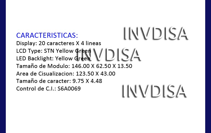 http://www.invdisa.com/ML/BcaractLcdGreen
